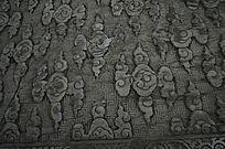 北京天坛的祥云雕纹