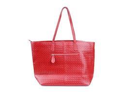 红色女士皮包
