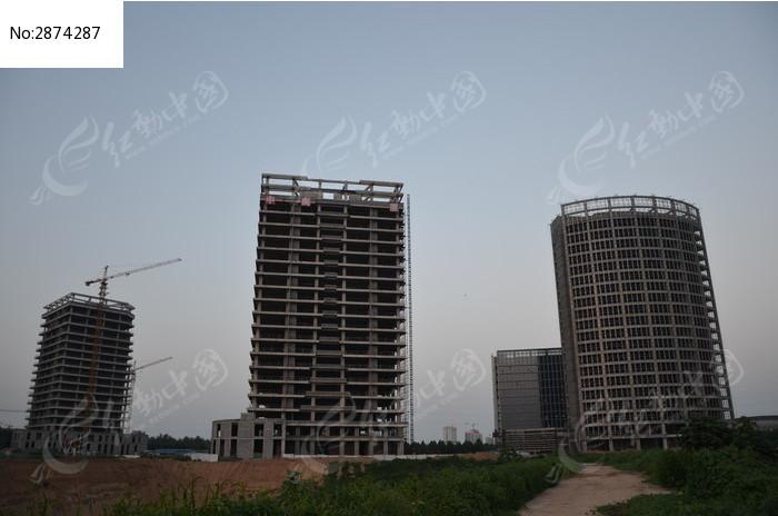 建设中的寿光企业总部建筑群