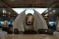 卢舍那大佛雕塑