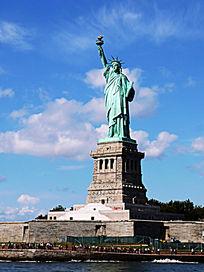 纽约的自由女神像