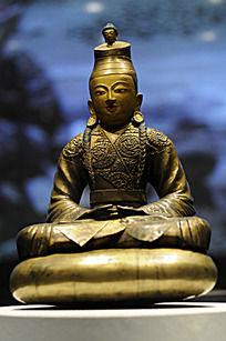铜鎏金松赞干布像