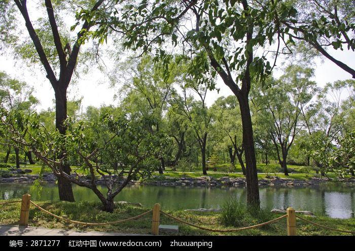 中式园林风景图片,高清大图