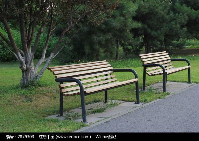 座椅 树林 花草 田园 公园