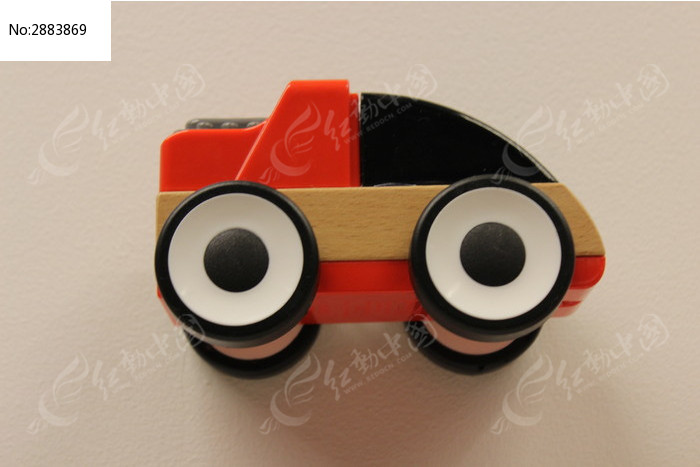 红色宜家玩具车图片,高清大图