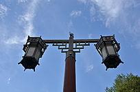 中式灯笼路灯