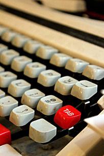 打字机装饰