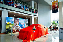 即将揭幕的新车展厅