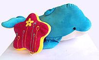 蓝色小海豚和小海星