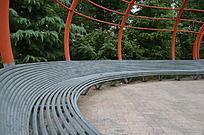公园里的休闲座椅