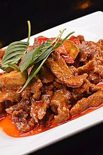 干咖喱炒牛肉