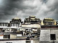 小布达拉宫松赞林寺