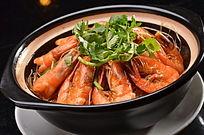 虾肉粉丝煲