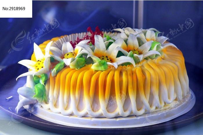 花卉蛋糕图片,高清大图