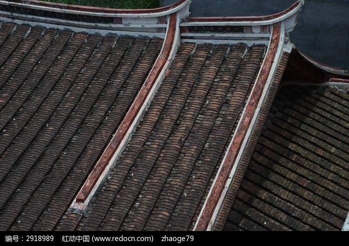 瓦片屋顶图片,高清大图