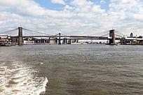 曼哈顿大桥风光