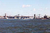 曼哈顿大桥与布鲁克林桥