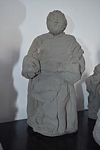 泥塑妈妈雕塑工艺品