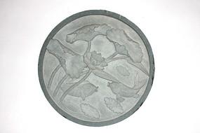 圆形雕刻装饰