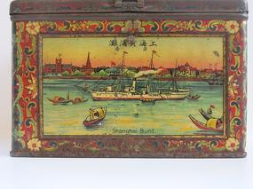 老上海照片航海船