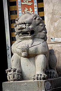 霸气石狮子
