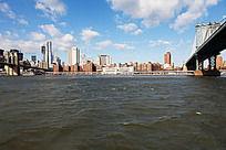 布鲁克林桥与曼哈顿大桥