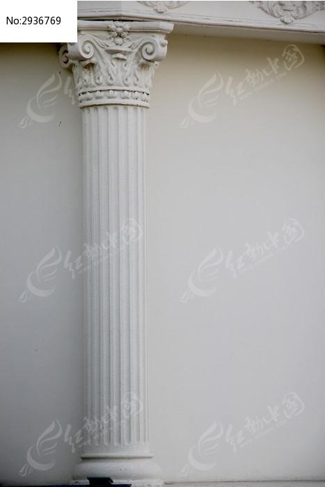 古罗马柱 户外装饰圆柱 园林别墅户外装饰柱 欧式装饰罗马柱子图片图片