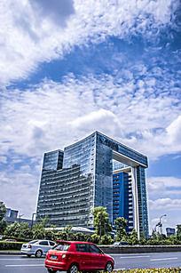 成都的中国国电大楼坚版
