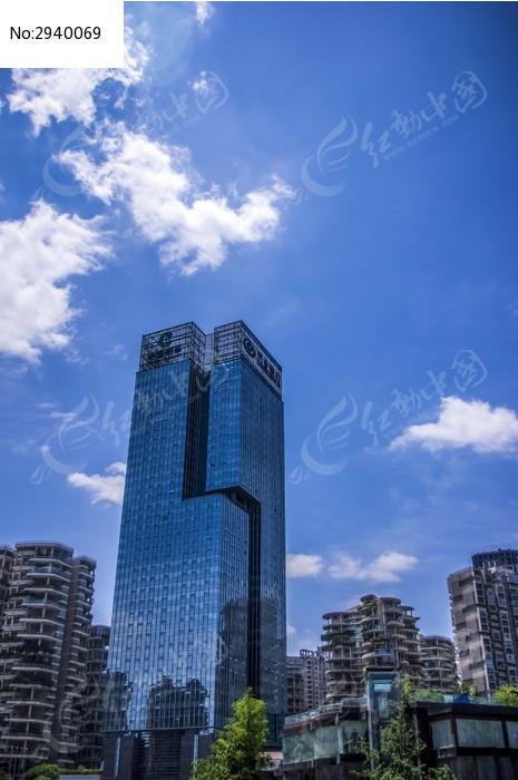 成都兴业银行大楼高清图片下载_红动网