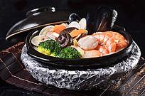 蜂巢海鲜豆腐