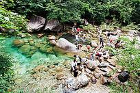 黄山翡翠谷  第一丽水