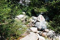 黄山翡翠谷   怪岩耸立