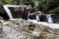 黄山翡翠谷 海蚌滩瀑布