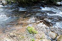黄山翡翠谷 流水潺潺