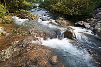 黄山翡翠谷  潺潺流水