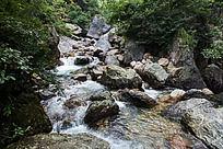 黄山翡翠谷 山石怪岩