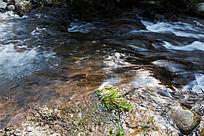 黄山翡翠谷 溪水清澈