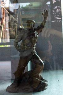 解放军雕刻