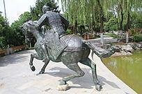 骑着马的将军