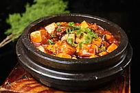 石锅豆腐烧牛腩
