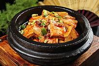 石锅农家老豆腐