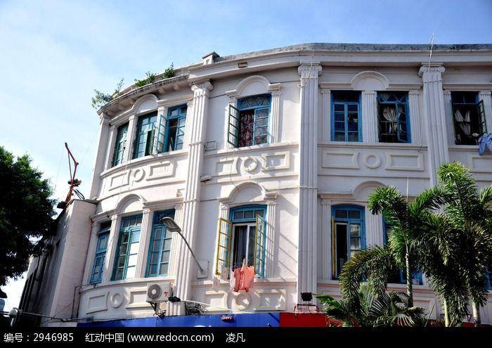 厦门中山路漂亮的欧式房屋图片