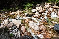 黄山翡翠谷  石改水色
