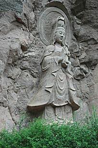 武夷山石刻佛像