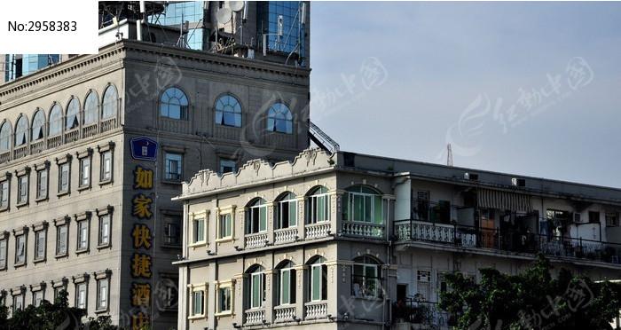 厦门中山路的欧式建筑图片