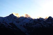 香格里拉梅里雪山