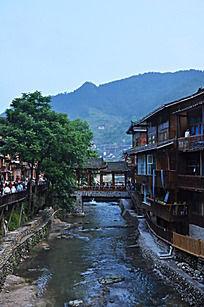 古镇上的小桥流水