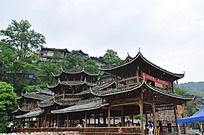 宏伟大气木质古建筑
