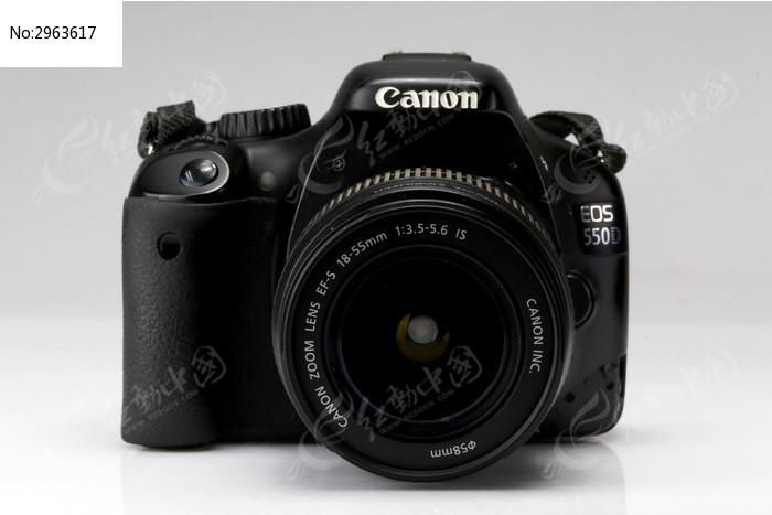 佳能550d单反相机镜头正面