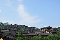千户苗寨村落